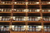 Podobne balkonies — Zdjęcie stockowe