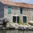 Stock Photo: Beautiful stone house near the sea