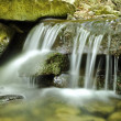 Waterfall in carpathians mountains - Stock Photo