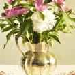 Stock Photo: Bouguet of peonies