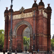 BarcelonArch of Triumph — Stock Photo #30140561