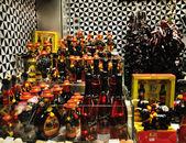 サングリア ワインと castanetses — ストック写真