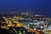 Barcelona city akşam — Stok fotoğraf