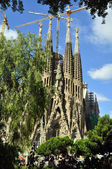 Sagrada Familia towers — Stock Photo