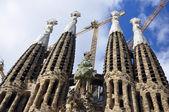 Sagrada familia torres — Foto de Stock