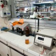 Laboratory for chemical analysis — Stock Photo