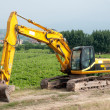 Hydraulic crawler excavator — Stock Photo #13368718