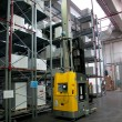 Stock Photo: Printshop: Automated warehouse (for paper)