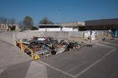 Italian Recycling center (Raee) — Stock Photo