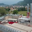 Paper and pulp mill - Cogeneration plant — Stock Photo