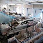 italienische Werft — Stockfoto