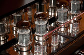 Tube amp (amplifier) — Stock Photo