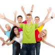 Group of young — Stock Photo #12664770