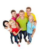 Group of young — Foto de Stock
