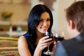 Romantic date — Stockfoto