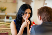 Appuntamento romantico — Foto Stock