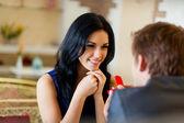 Romantyczną randkę — Zdjęcie stockowe