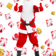 Santa clause creative design — Stock Photo