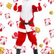 Santa clause creative design - Stock Photo