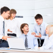 Business people group during meeting — Stock Photo