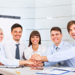 Business people team at office meeting — Stockfoto