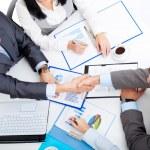 Business people handshake — Stock Photo #31733531