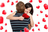 Love valentine day couple — Stock Photo
