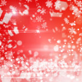 Christmas abstract red background — Stock Photo