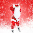 Santa Claus full length portrait — Stock Photo