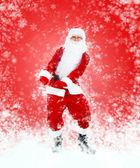 Santa Claus full length portrait — Stock Photo