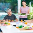 Family having lunch — Stock Photo #41744365