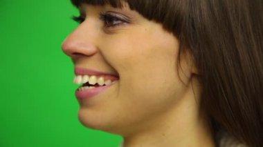 Donna ridendo — Video Stock