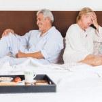 Couple having breakfast — Stock Photo #43554745