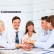 Business people team at office meeting — Stock Photo #43566567