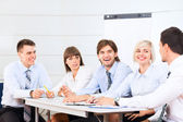 Business people discussion on meeting — Stock Photo