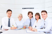 Business people on meeting — Stock Photo