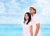 Couple on summer vacation — Stock Photo