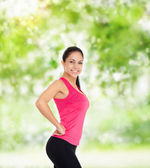 Sport fitness woman — Stock Photo