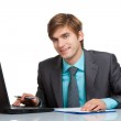 Young businessman — Stock Photo #9828612