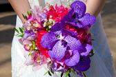 Wedding bouquet flowers  — Stock Photo