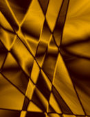 Gold Stained Glass Effect Background — Stock fotografie