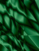 Green Stained Glass Effect Background — Stock Photo