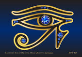 Eye of Ra Sapphire — Stock Vector