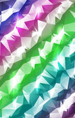 Pastel Stripes Polygonal Abstract — Stock Vector