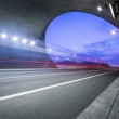 Motion truck go through the tunnel — Stock Photo #29364485