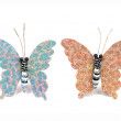 Stock Photo: Butterfly decorative isolated on white background