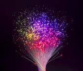 Internet technology fiber optic background — Stock Photo