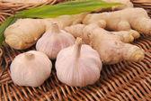 Ginger and Garlic — Stock Photo