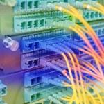 Постер, плакат: Data transfer by optical fibre information technology
