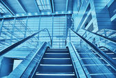 Staircase in an airport — Stock Photo